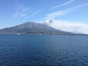 Sakurajima: Naughty as usual