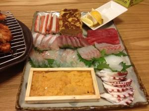 刺身/sashimi aka delicious