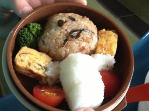 なめこ弁当---cute mushroom bentou!