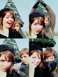 funny faces for Christmas!